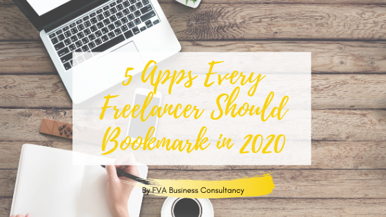5 Apps Every Freelancer Should Bookmark in 2020