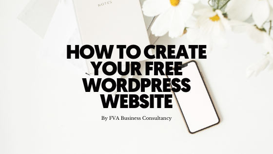 How to Create Your FREE WordPress Website