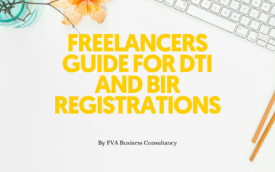 Freelancers Guide for DTI and BIR Registrations