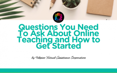 Questions You Need To Ask About Online Teaching and How to Get Started