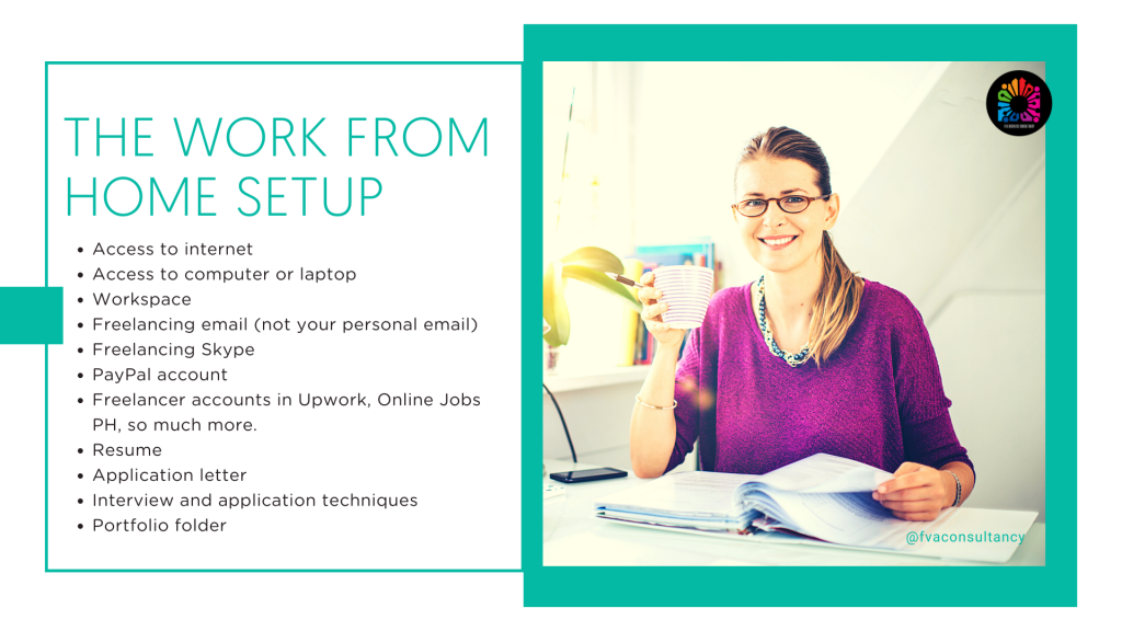 How to Work From Home as a Virtual Assistant in 2021, Work-From-Home Set-up